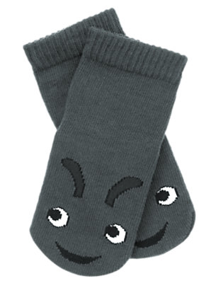 Baby Slate Grey Ant Sock by Gymboree