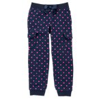 Dot Cargo Fleece Pant