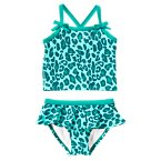 Leopard Two-Piece Swimsuit