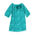 Bow Leopard Dress