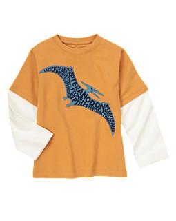 Pteranodon Double Sleeve Tee
