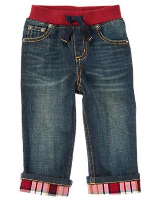 Denim Pull-On Cuffed Jean by Gymboree