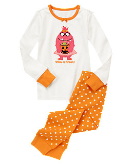 Trick Or Treat Monster Two-Piece Gymmies®