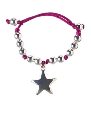 Girls Purple Star Charm Bracelet by Gymboree