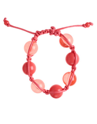 Girls Pink Bauble Bracelet by Gymboree