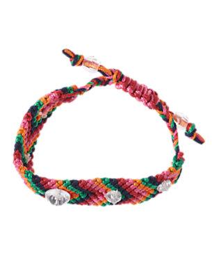 Girls Pink Gem Friendship Bracelet by Gymboree