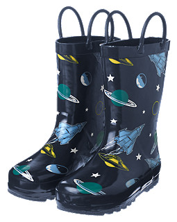 Spaceships Rainboot