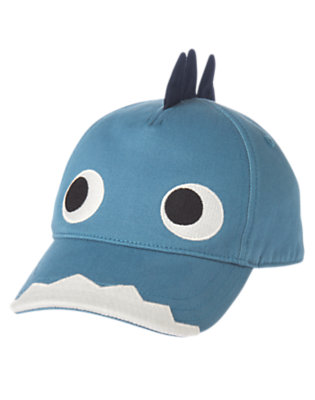 Dino Blue Dino Baseball Cap by Gymboree