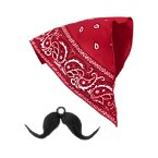 Junior Buckaroo Bandana & Moustache