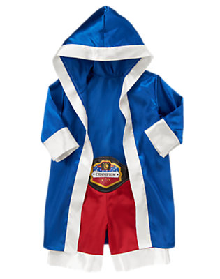 Blue/Red Mini Boxer Costume by Gymboree