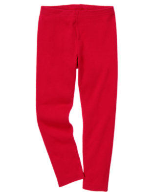 Girls Red Legging by Gymboree