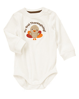 My First Thanksgiving Bodysuit
