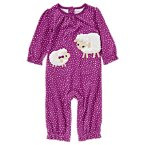 Little Lamb Polka Dot One-Piece