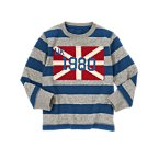 UK 1980 Flag Stripe Tee