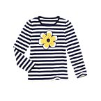 Gem Flower Stripe Tee