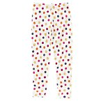 Button Print Legging