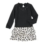 Gem Dalmatian Tiered Dress