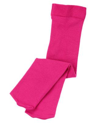 Toddler Girls Fuchsia Pink Tight by Gymboree