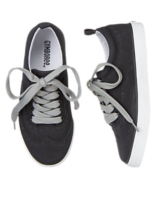 Black Wingtip Sneaker by Gymboree