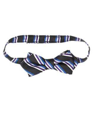 Black Stripe Stripe Bowtie by Gymboree