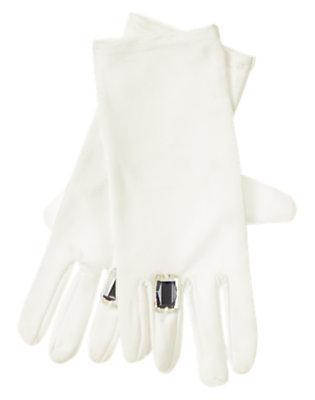 Winter Ivory Dressy Glove by Gymboree
