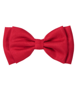 Toddler Girls Holiday Red Bow Hair Clip by Gymboree