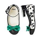 Bow Dalmatian Ballet Flat