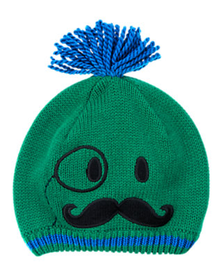 Toddler Boys Vivid Green Magician Sweater Hat by Gymboree