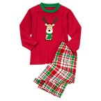 Reindeer Two-Piece Pajama Set