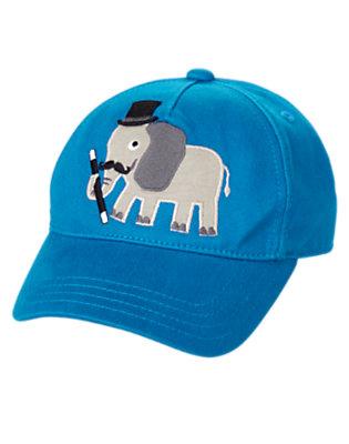 Toddler Boys Magic Blue Magic Elephant Baseball Cap by Gymboree