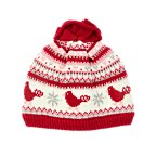 Bird Fair Isle Sweater Hat