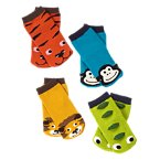 Animal Sock Four-Pack