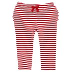 Candy Cane Ruffle Leggings