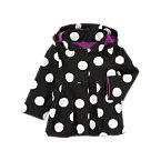 Dot Hooded Jacket