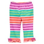 Colorful Ruffle Pant