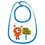 Little Monster Reversible Bib