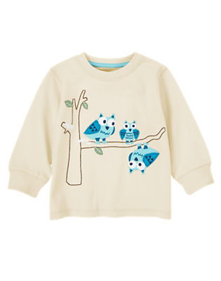 Sand Owl Family Tee by Gymboree