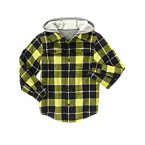 Plaid Hooded Shacket