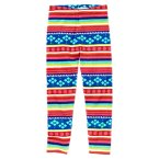 Stripe Fair Isle Legging