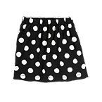 Striped & Dot Reversible Skirt