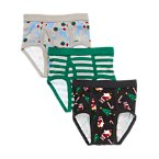 Santa Briefs Three-Pack