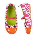 Zebra Buddy Ballet Flats