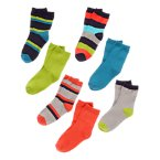 Stripe Socks Seven-Pack