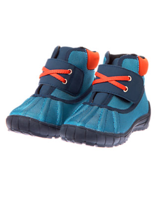 Blue Winter Shoes by Gymboree