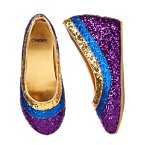 Glitter Wedge Shoes