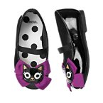 Kitty Bow Patent Ballet Flats