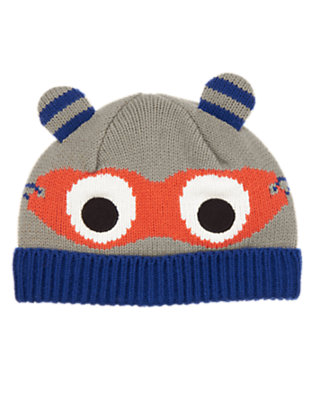 Toddler Boys Hippo Gray Super Hippo Hero Hat by Gymboree