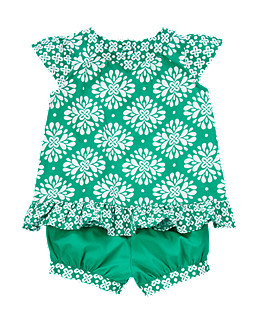 St. Patrick's Day for baby: Clover outfit