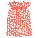 Floral Bow Pique Dress