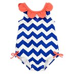 Chevron Petals Swimsuit